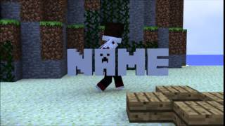 Free Sync Minecraft Animated Intro Template