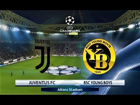 Juventus Young Boys Uefa Champions League Pes