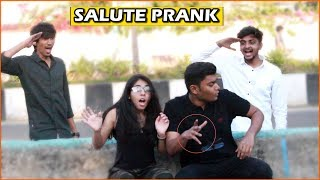 Salute Prank In India | EPIC REACTION | Indian Pranks