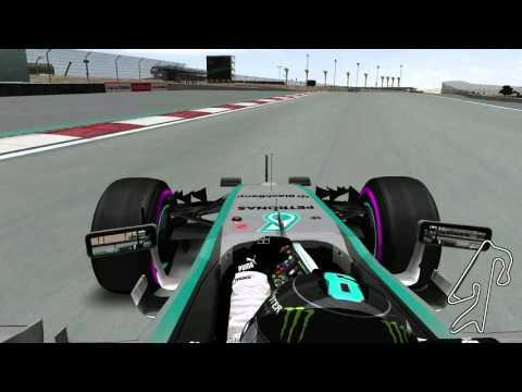 Grand Prix 4 - F1 W06 Hybrid #6 - Dubai Autodrome - Pirelli Ultrasoft Compound 2016