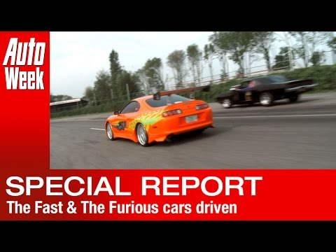 The Fast  &  The Furious cars driven - English subtitled