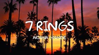 Ariana Grande - 7 Rings (Lyric Video)