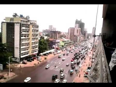 view of Kinshasa city