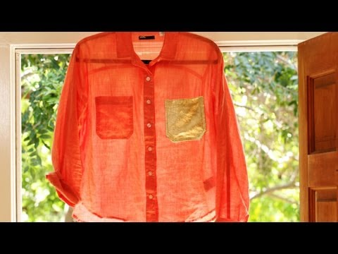 Summer Shirt (DIY Fashion) Dress It Up || KIN DIY