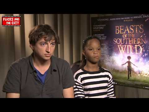 Beasts of the Southern Wild Interview with Quvenzhané Wallis & director Benh Zeitlin