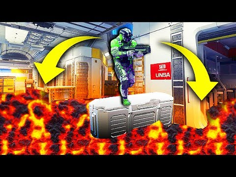 THE FLOOR IS LAVA CHALLENGE on Call of Duty! (Funny Custom Game)