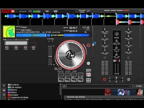 Numark Mixtrack Pro3 aka MTPro3 - Skin 60% Progress Virtualdj 8