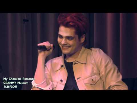 My Chemical Romance- The GRAMMY Museum Interview Part 2