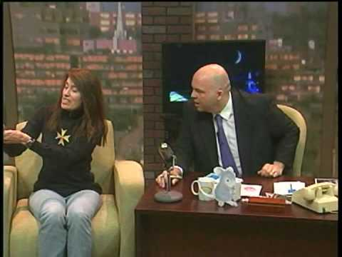 Ellen Jareckie's appearance on Tim Kavanagh's Late Night Saturday Show.