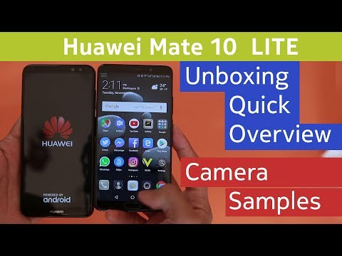 Huawei Mate 10 Lite - Unboxing / Review, Camera Samples