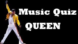 Music Quiz - Queen