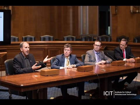 ICIT Senate Briefing:  Layered Security Strategies for Health Sector Organizations