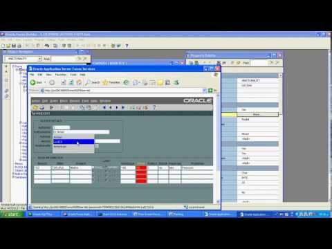 form builder 10g oracle