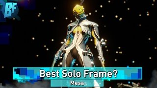 Warframe: Is Mesa the Best Solo Frame Right Now?