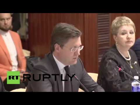Russia: Energy Minister proposes $500 million boost in trade with Qatar