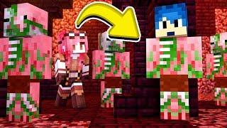 Minecraft ITA - NASCONDINO IN MEZZO AI PIGMAN!!
