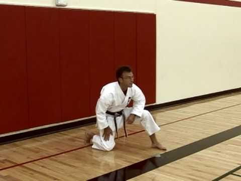 Basic Karate Stances video