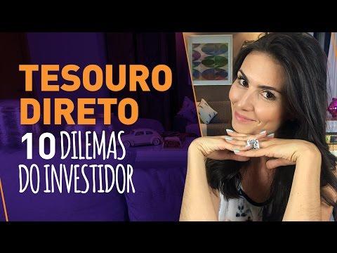 10 DILEMAS MAIS FREQUENTES SOBRE TESOURO DIRETO! Tire as dúvidas e invista! thumbnail