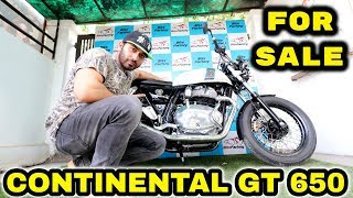 ROYAL ENFIELD CONTINENTAL GT 650 FOR SALE | BORN CREATOR