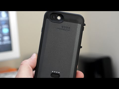 Lifeproof iPhone 6s Battery Case Review