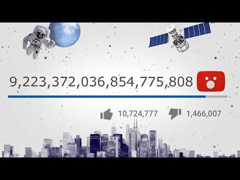 Какое МАКСИМАЛЬНОЕ количество просмотров на YouTube?