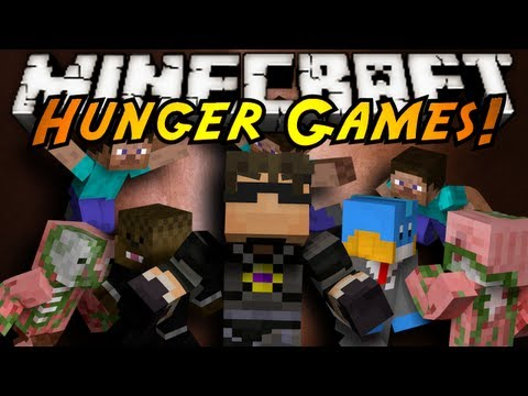 Minecraft Mini-Game : HUNGER GAMES!