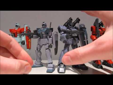 1/144 HGUC White Dingo Team Custom GM&Guncannon Conclusion (part 3/3)