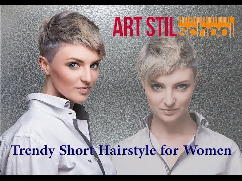 Trendy Short Hairstyle for Women
