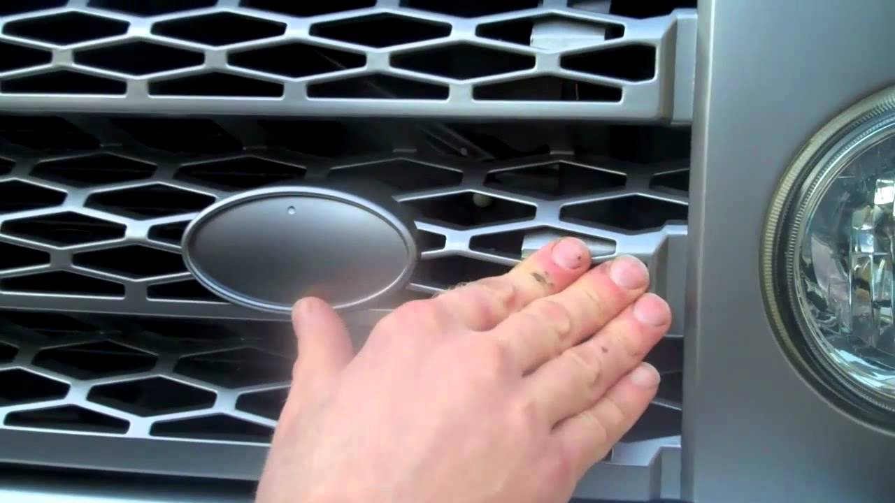 How To Fit Upgrade Grille To Land Rover Discovery 3 Lr3
