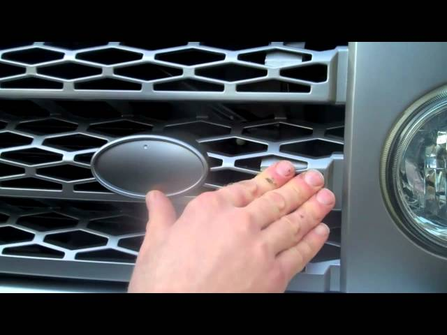 How to fit upgrade grille to Land Rover Discovery 3 / LR3 ...