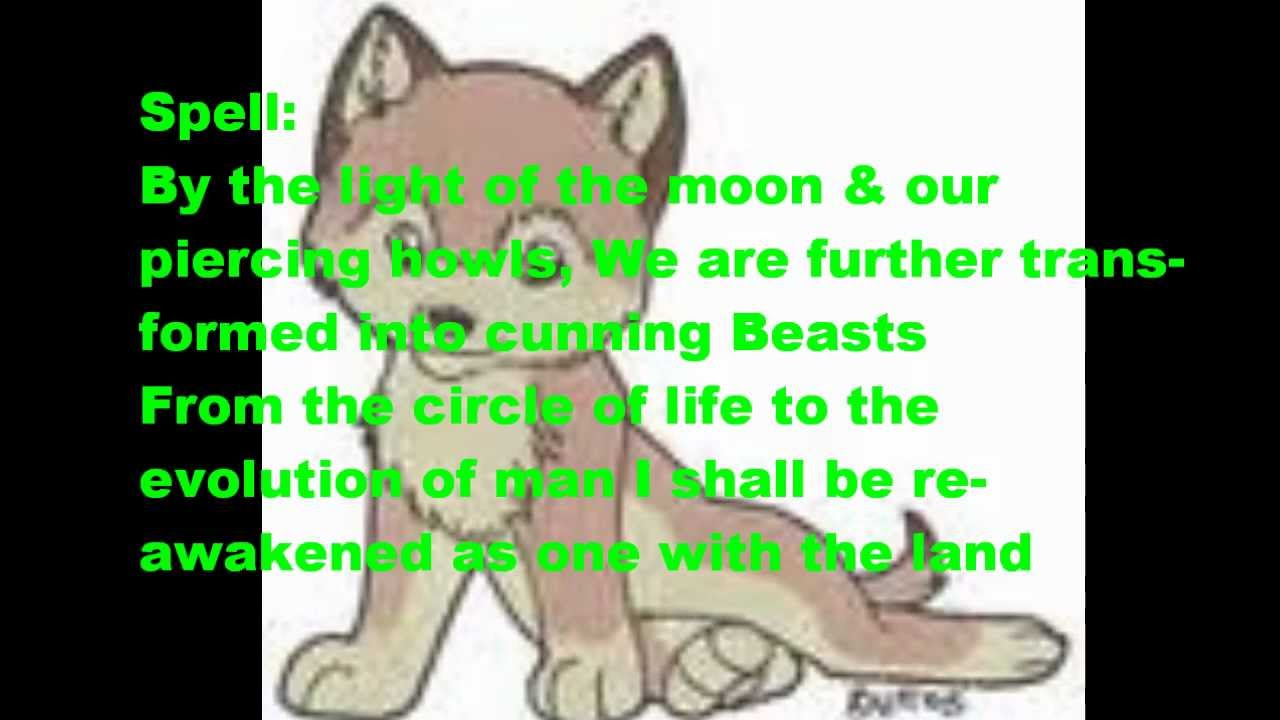Werewolf spell - YouTube