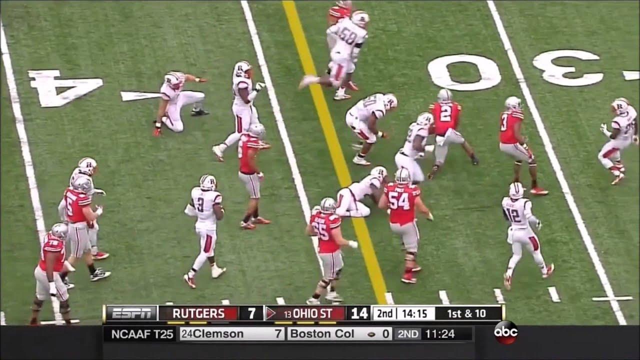 Taylor Decker vs Rutgers (2014)