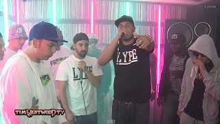 JayKae & Invasion freestyle - Westwood Crib Session