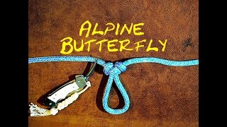 Download Alpine Butterfly Loop Revisited Quick Tie Version  Alpine Loop Lineman39s Rider Lineman39s Loop Knot MP3