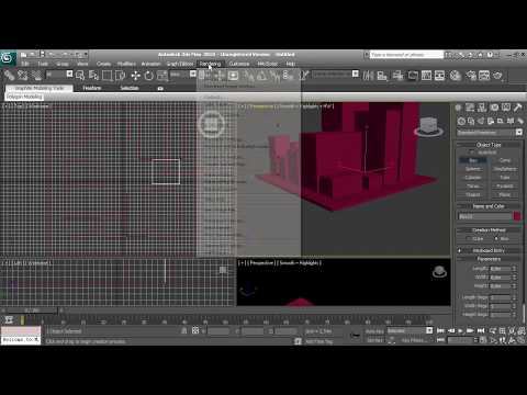 3d Studio Max 2010 Tutorial Lighting Render Mental Ray Daylight System 1280x720 True Hd
