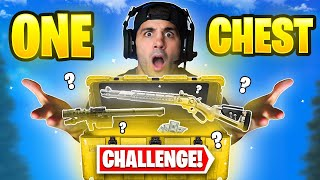 The ONE CHEST Warzone Challenge! 🤯