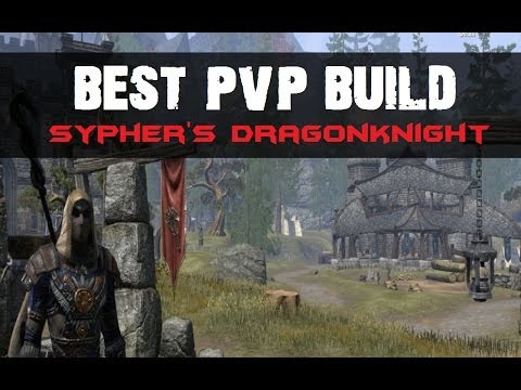 Eso best pvp dk build sypher s dragonknight youtube