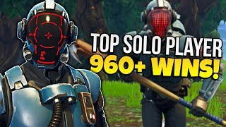 TOP SOLO PLAYER // 950+ WINS // PRO FORTNITE PLAYER
