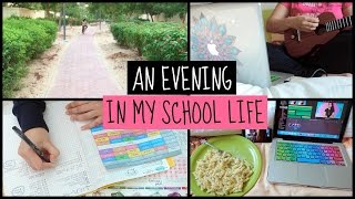 An evening in my life (School edition 2016)