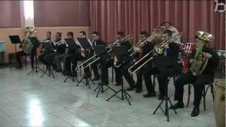 Tromtumba, enxemble de metalls, audició en el centre instrictiu musical d'alfafar