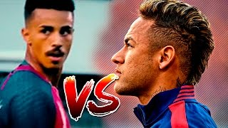MC LIVINHO vs NEYMAR JR - DRIBLES E GOLS ⚽ ( Skills & Goals Battle )