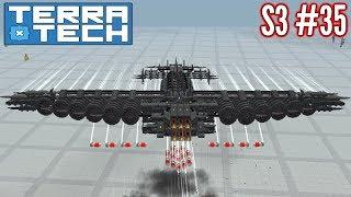 Terratech   Ep35 S3   Heavy Hawkeye Bomber (...Again?!)   Terratech v0.8.1 Gameplay