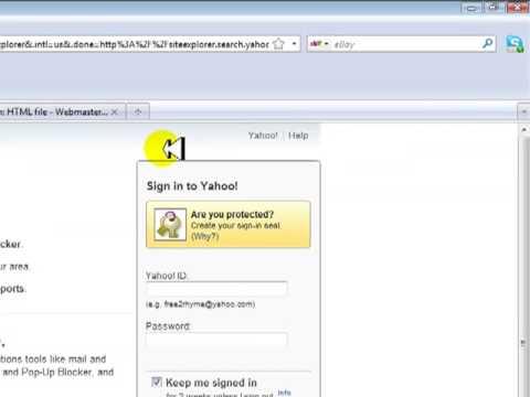 Webmaster+tools+yahoo
