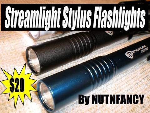 Streamlight Stylus Lights: $20 Well Spent