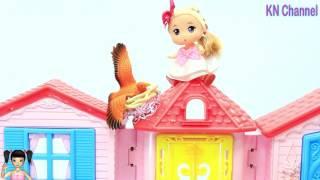 ChiChi ToysReview TV - Trò Chơi Búp bê leo lên nóc nhà