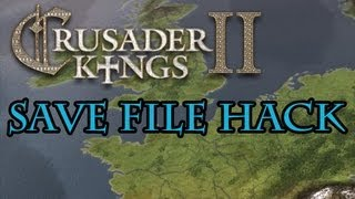 how to edit ck2 save files