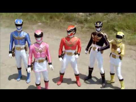 Могучие рейнджеры все битвы мегазордов шестых рейнджеров (Самураи-Дино заряд)