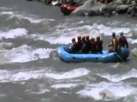 White Water Rafting Over River Lidder Pahalgam, Kashmir