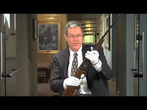 The one millionth Savage Model 1899 lever action rifle.  A National Firearms Museum Treasure Gun.