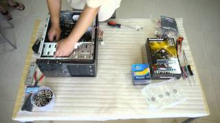 How To Build Budget Game PC (Core i5-2400 + HD 5770)~380USD [Full HD]